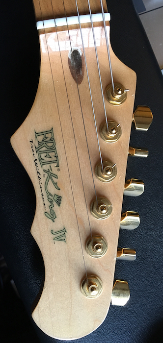 No 1 headstock